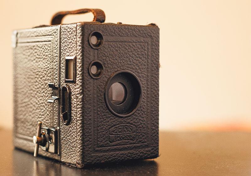 Fotografieren lernen | Aufbau der Kamera