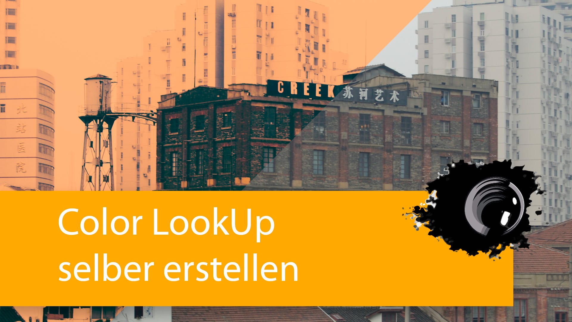 Color Lookup in Photoshop erstellen