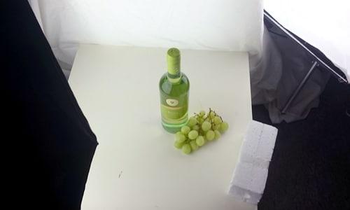 produktfotografie setup