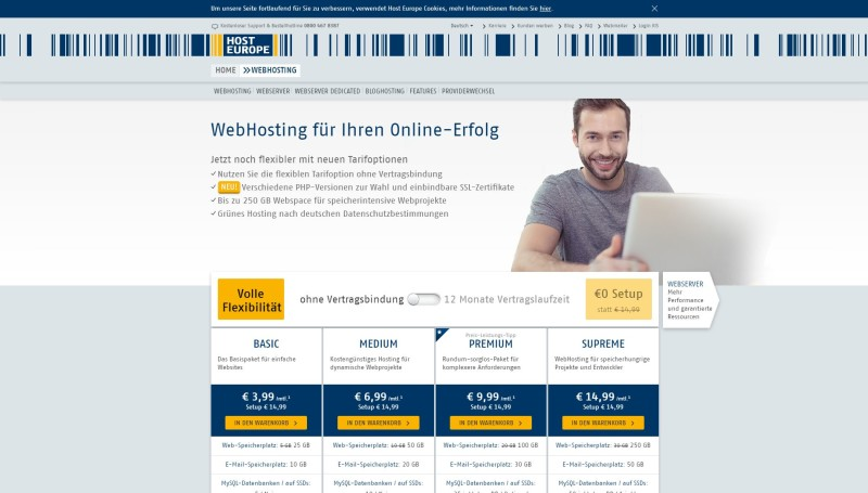 Marketing für Fotografen - hosteurope-website-fotografen-grafik