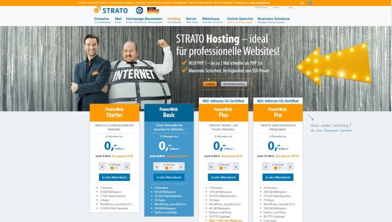 Marketing für Fotografen - strato-website-fotografen